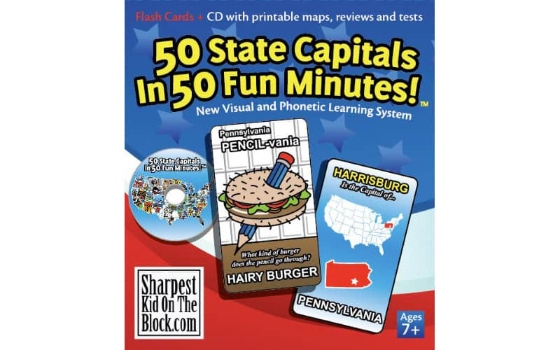 50 State Capitals Flashcards
