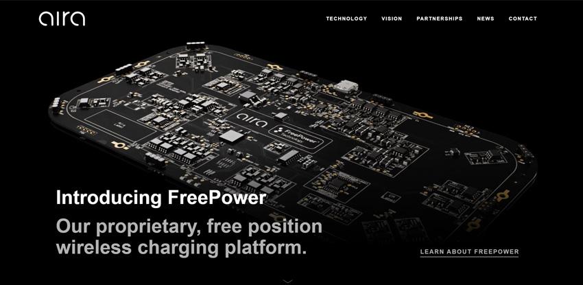 Aira Wireless Charging Pad