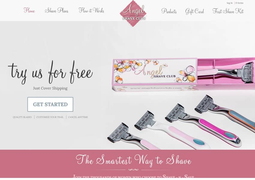 Angel Shave Club For Women