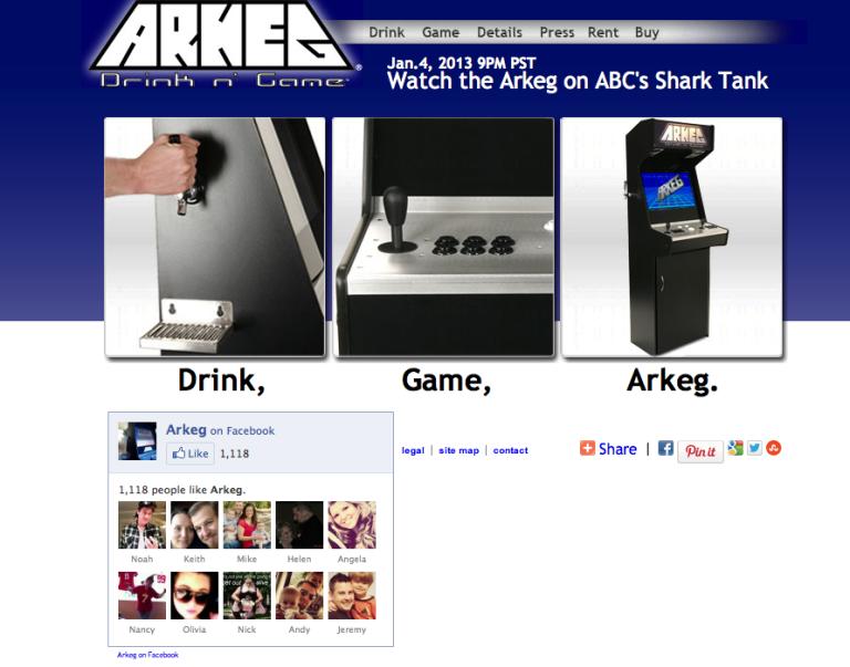 Arkeg Shark Tank