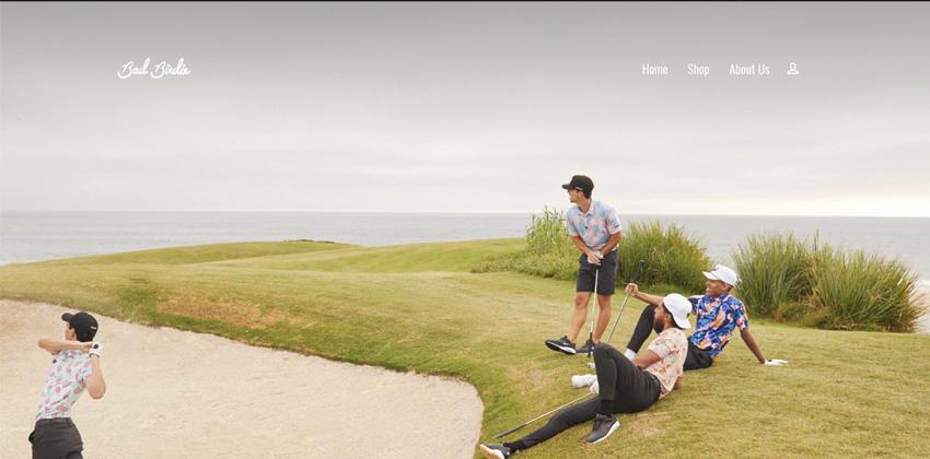 Bad Birdie Golf Shirts