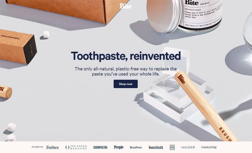 Bite Eco-Friendly Toothpaste