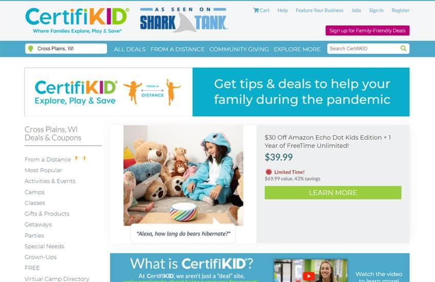 CertifiKID Family Activities
