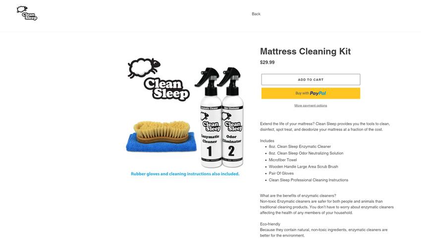 Clean Sleep