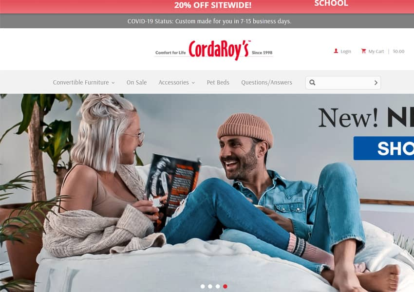 CordaRoys Convertible Beanbag Chairs
