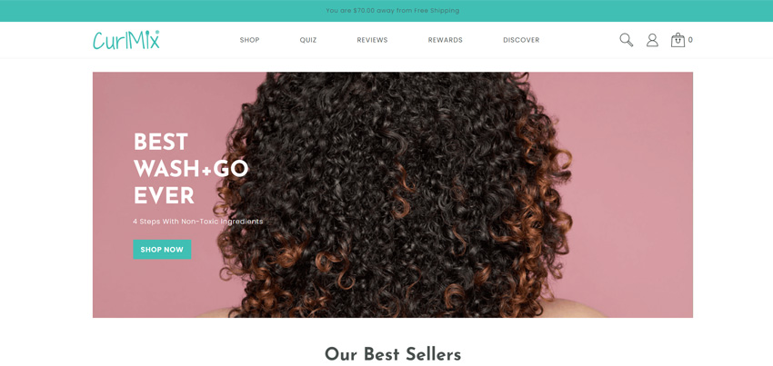 CurlMix Beauty Products For Curly Hair