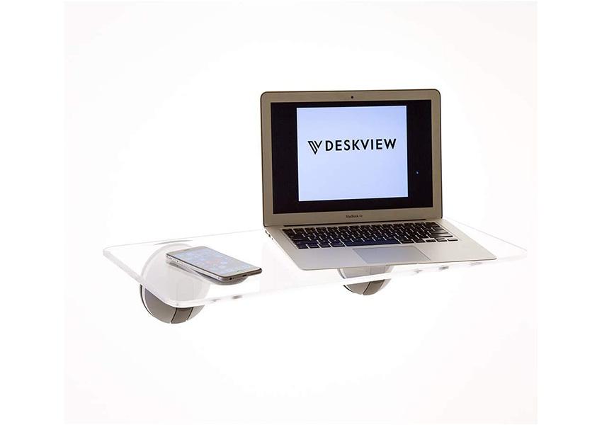 DeskView Window Mounted Standing Desk