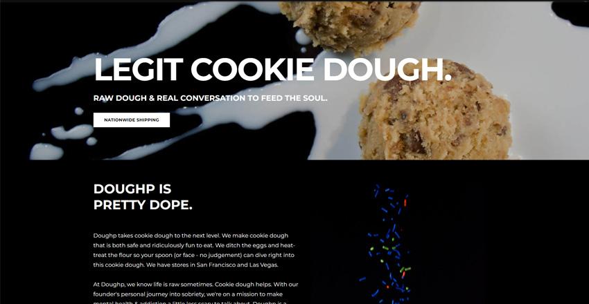DoughP Ready To Eat Cookie Dough