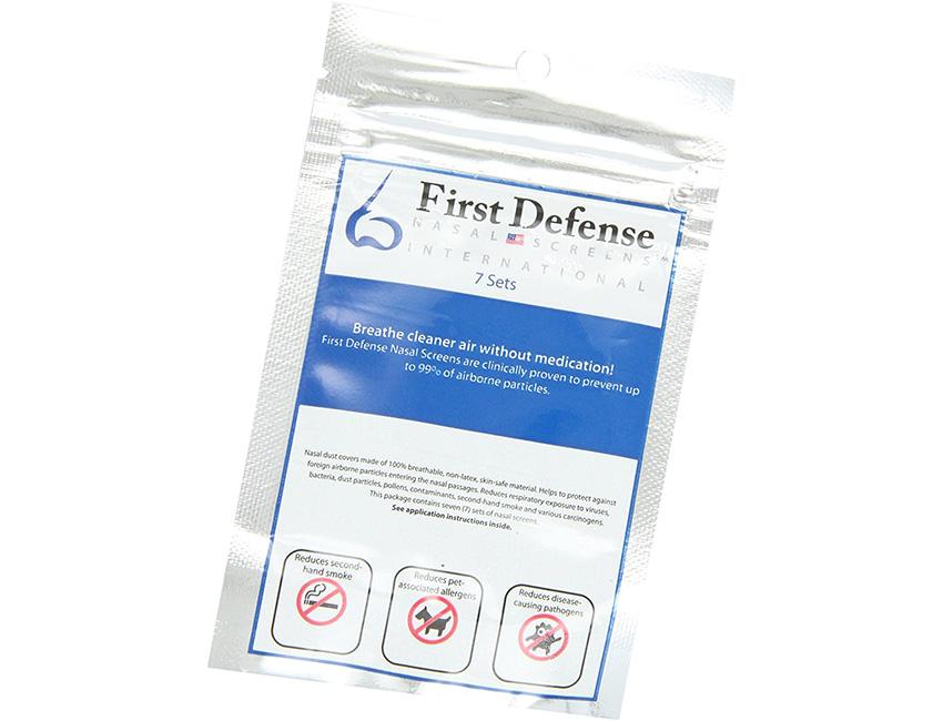 First Defense Nasal Screens