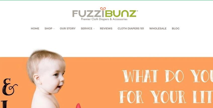 FuzziBunz Washable Diapers