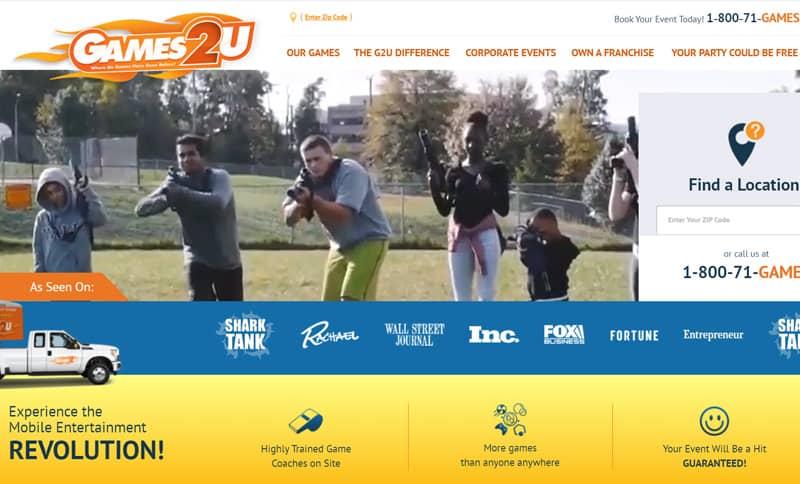 Games2U – Mobile Entertainment