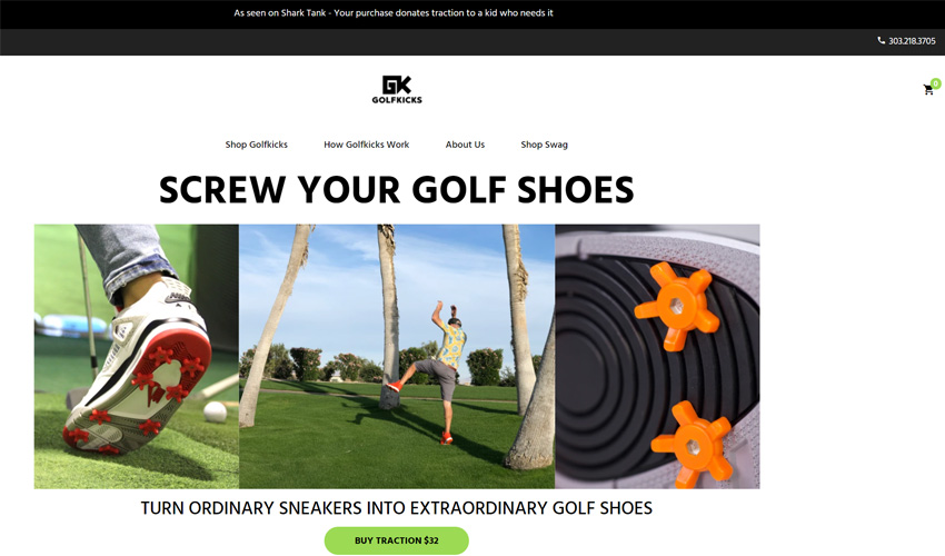 Golfkicks Cleats For Any Shoes