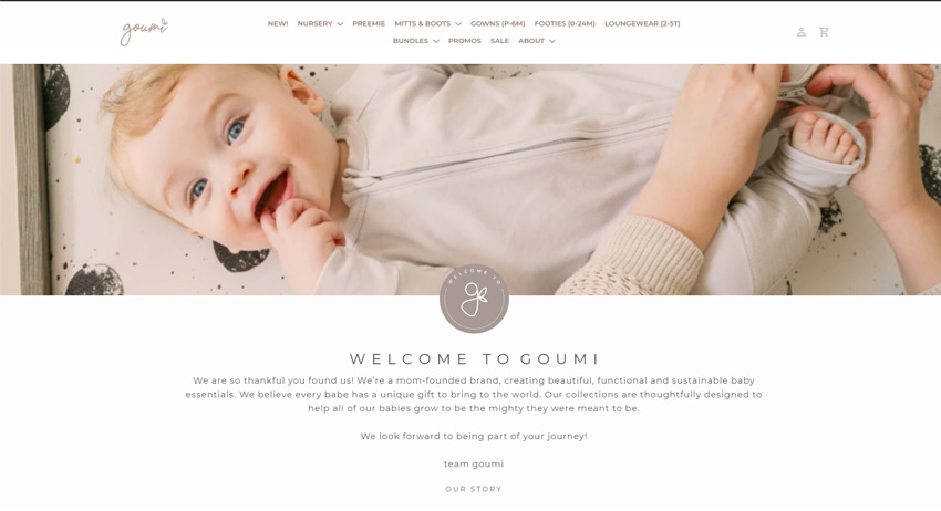 Goumi Kids Baby Clothes