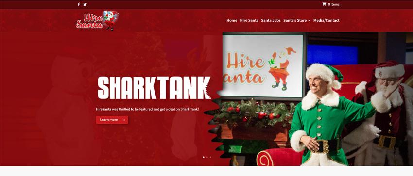 Hire Santa Shark Tank