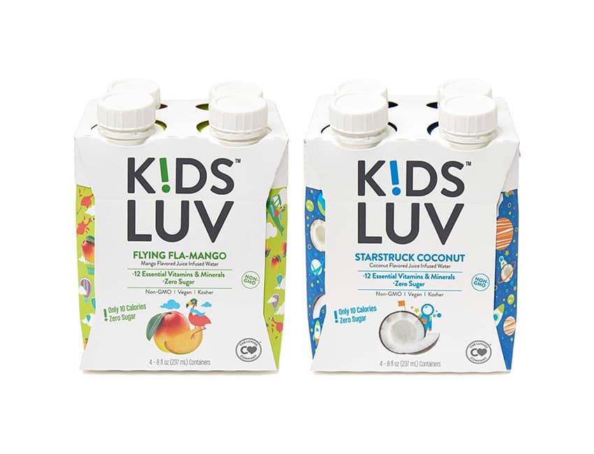 KidsLuv Vitamin Infused Flavored Water