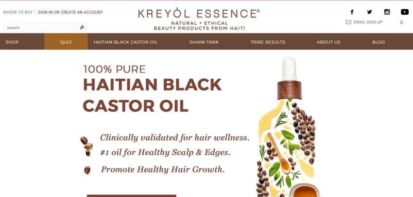 Kreyol Essence Haitian Beauty Products