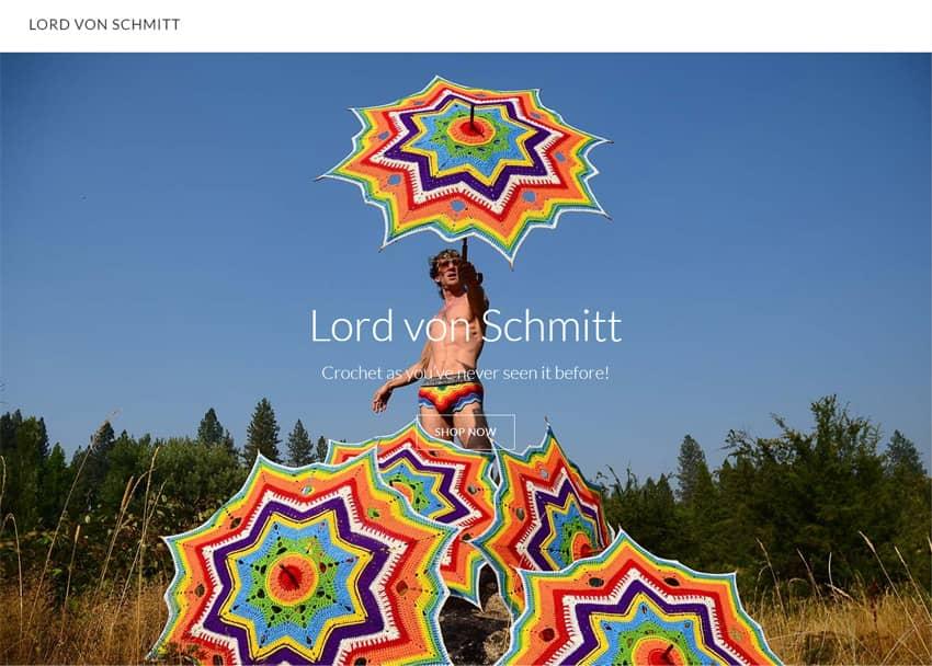 Lord von Schmitt Crochet Clothing