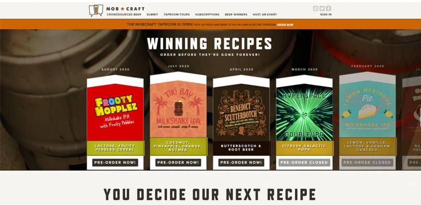 Mobcraft Beer Crowdfunded Beer