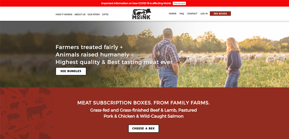 Moink Meat Subscription Box