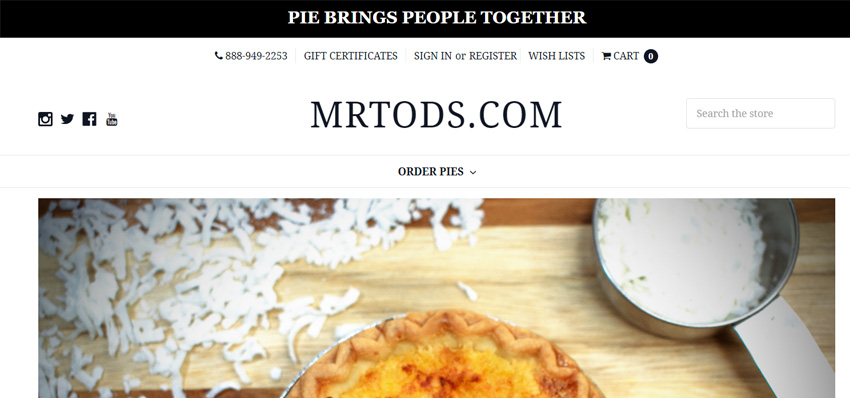 Mr Tods Pie