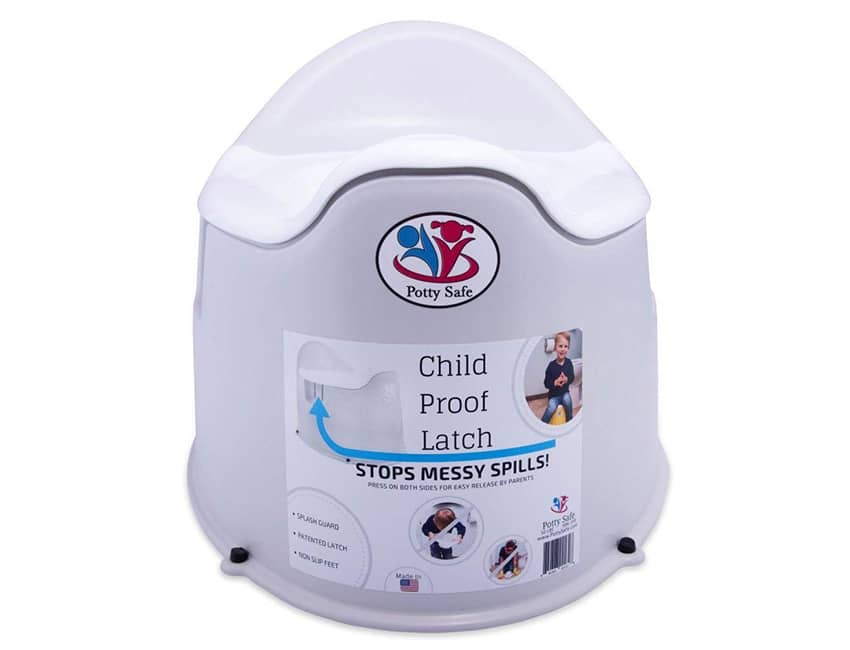 Potty Safe Child Proof Potty Training Toilet