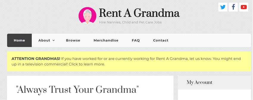Rent-A-Grandma