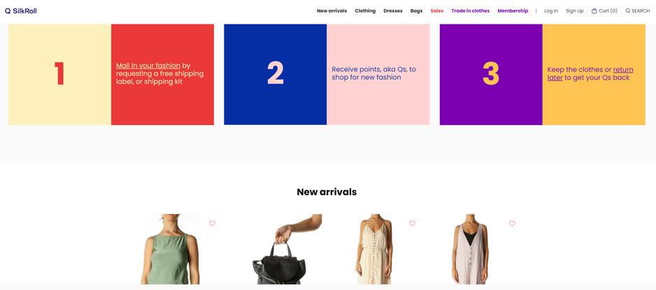 SilkRoll Fashion Trading Platform