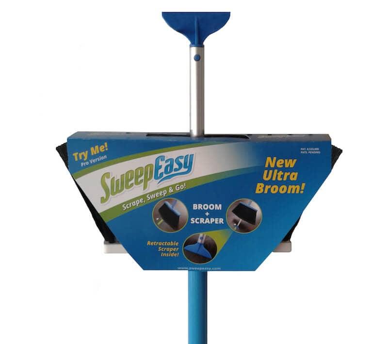SweepEasy – Broom and Scraper