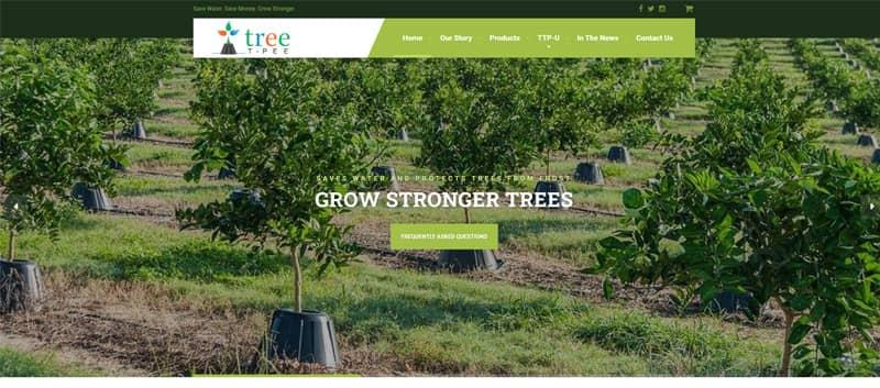 Tree T-Pee Water