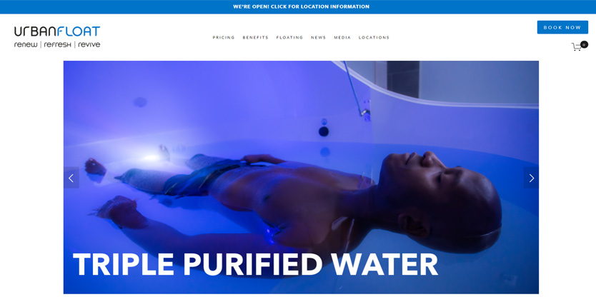 Urban Float Sensory Deprivation Therapy