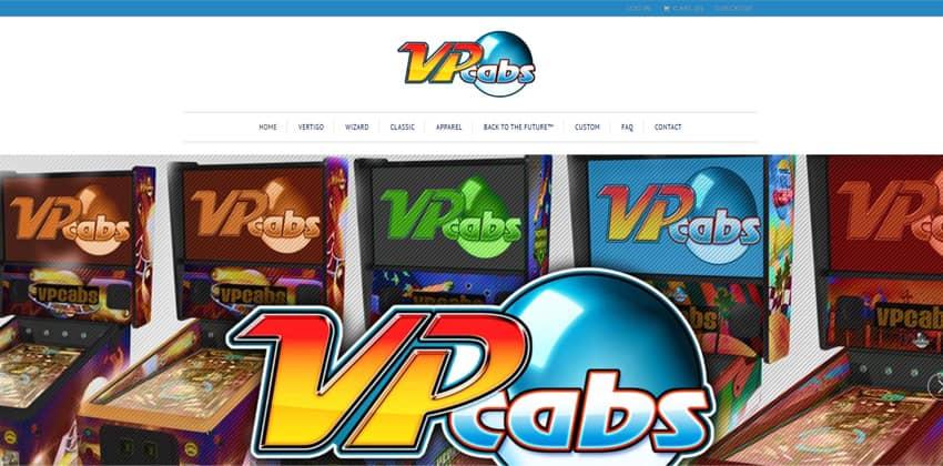 VPcabs Virtual Pinball Machines