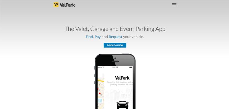ValPark Valet Parking App