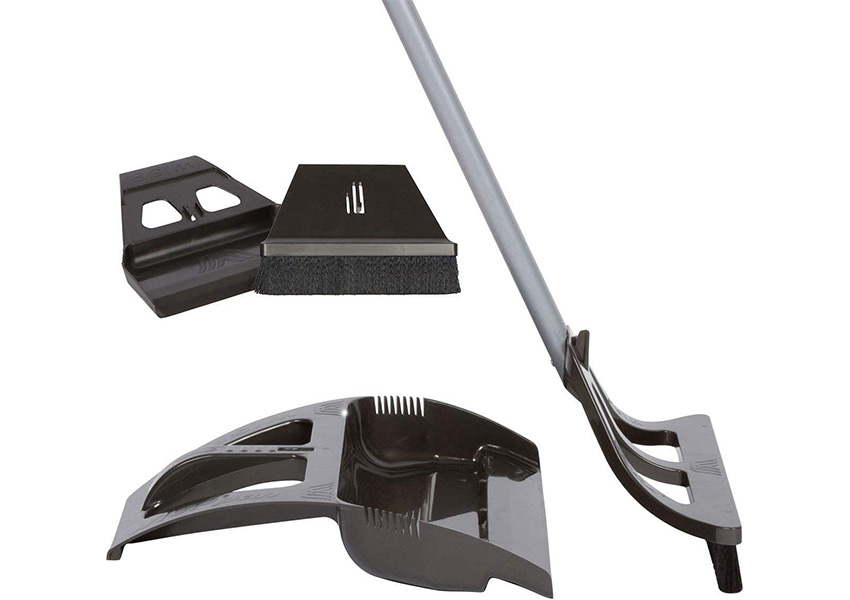 WISP Cleaning System Broom and Dustpan