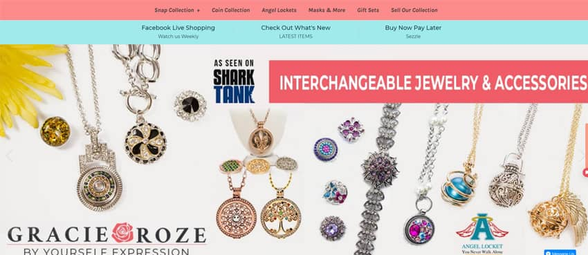 Yourself Expression Interchangeable Snap Jewelry