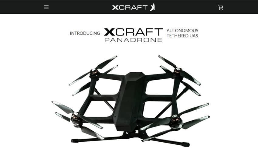 xCraft superfast drone