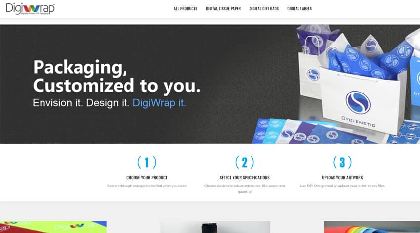 DigiWrap Custom Wrapping Paper