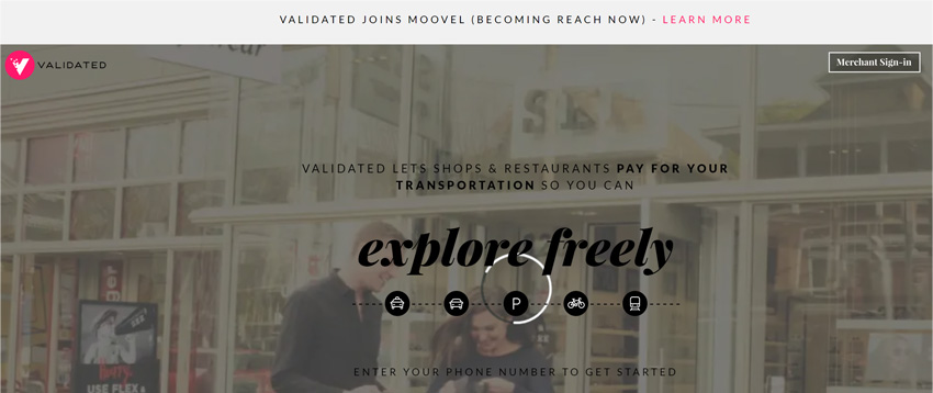 Validated App For Free Rides