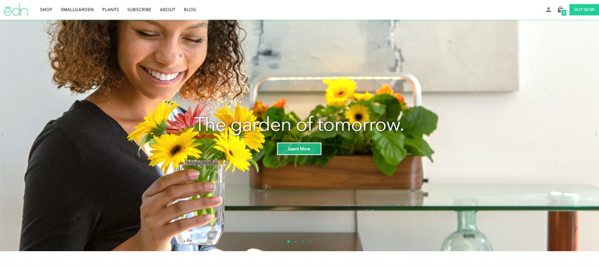 edn Smart Automated Indoor Gardens
