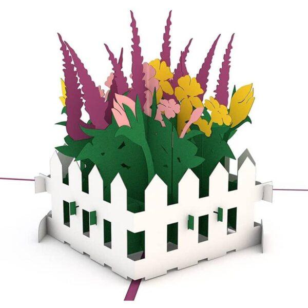Lovepop Flower Garden 3D card