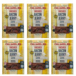 Honey Pepper Bacon Jerky 6 Pack