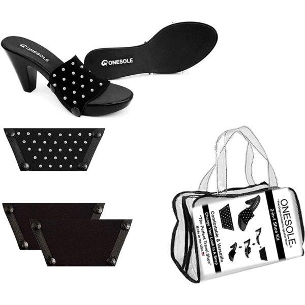 Onesole Chic Black Travel Kit
