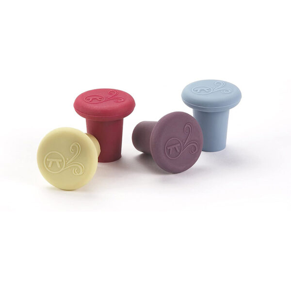 Outset B229 Silicone Wine Bottle Stoppers