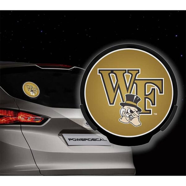 Rico Industries Wake Forest Power Decal