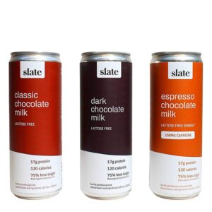 Slate High Protein Chocolate Milk Variety 12 Pack