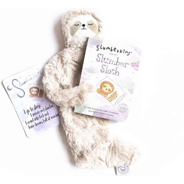 Slumberkins Slumber Sloth Snuggler Book