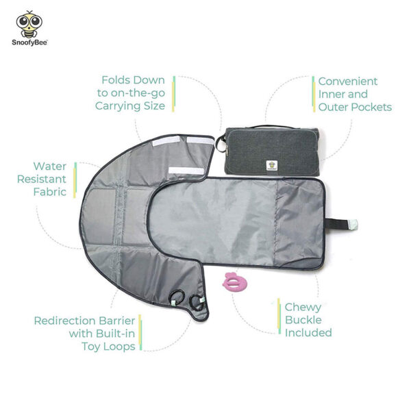 SnoofyBee Large Baby-Changing Travel Pad Diaper Clutch