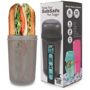 SubSafe Sub Sandwich Container