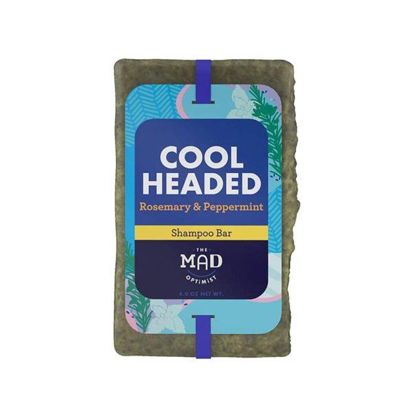 The Mad Optimist Cool Headed Rosemary Peppermint Shampoo Bar Soap